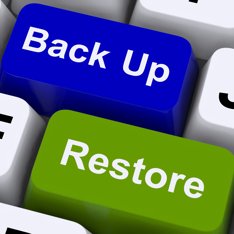 back up and restore keys for data security GJgmQzwd